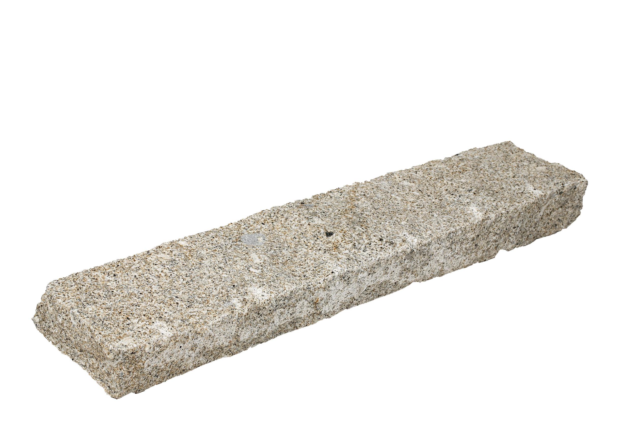 Bordure granit beige 8x15xlong libre