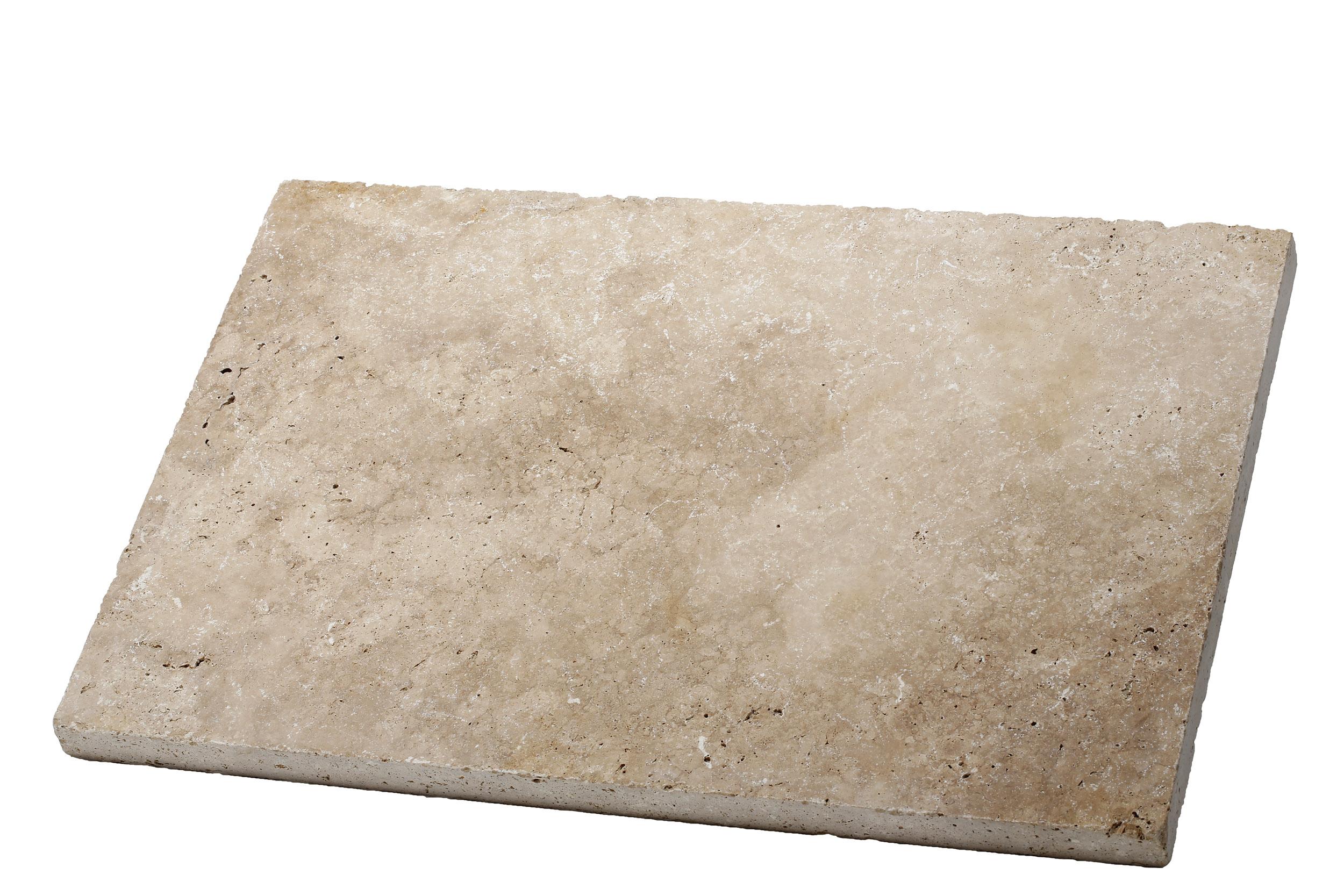 Dalle travertin épaisseur 3 cm