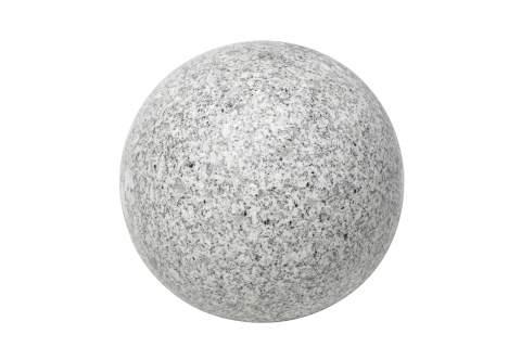 Sphère granit gris diamètre 40