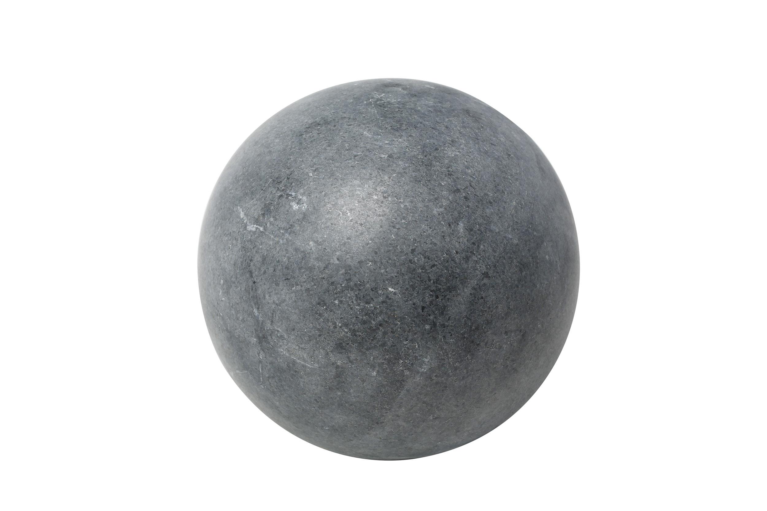Sphère granit noir diamètre 40